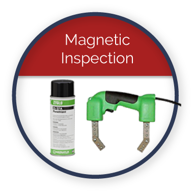 Magnetic Particle Inspection image here